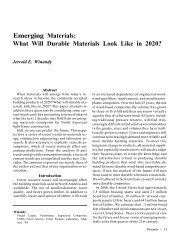 Emerging Materials: What Will Durable Materials Look Like in 2020?