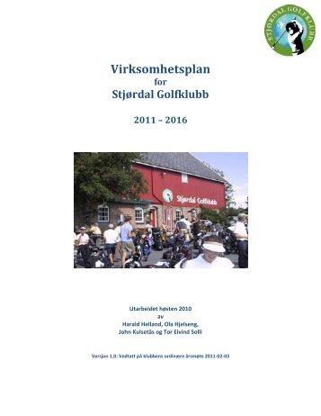 Trykk her for virksomhetsplan - Stjørdal Golfklubb