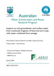 Impacts on soil, groundwater and surface water from continued ...