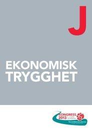 J. Ekonomisk trygghet - Socialdemokraterna