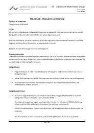 TOLKELAB - Manual til selvtræning - Helpdesk.asb.dk