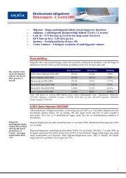 2. kvartal 2006 - Dexia Bank Denmark