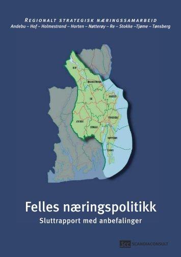 Sluttrapport felles næringspolitikk - 12-kommunesamarbeidet i ...