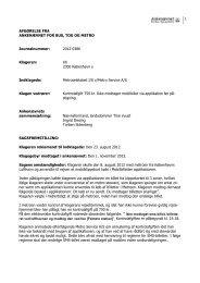 Afgørelse 2012-0386, 23. april 2013 - Ankenævnet for Bus, Tog og ...