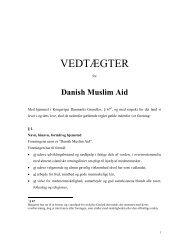 To Mr - Danish Muslim AID
