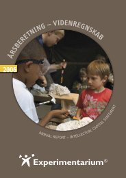 Årsberetning 2006 - Experimentarium