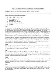 Referat af A/B Jutlandiahus-bestyrelsesmøde, mandag den 7/2-2011