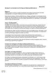 Marts 2012 Strategi for samarbejde med frivillige ... - Centralbibliotek