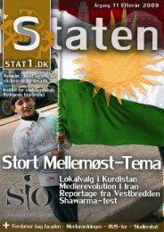Efterår 2009, årgang 11, nr. 3 - STATEN