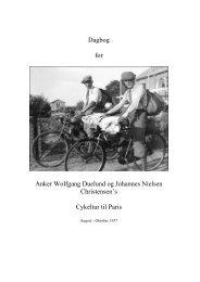 Dagbog for cykeltur til Paris 1937 - igbc.dk