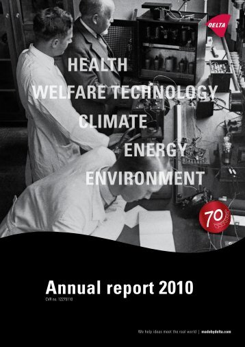 Annual report 2010 - Delta