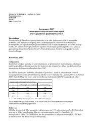 AArsrapport_oekontrol_071.doc - Fødevarestyrelsen