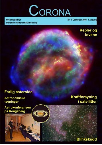 Corona nr. 4/2006 - Trondheim Astronomiske Forening