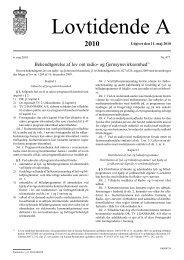 Bekendtgørelse af lov om radio- og fjernsynsvirksomhed1)