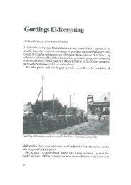Gørding El-forsyning af Bent Johansen