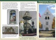 M65 Historie dansk - Trinitatis kirke