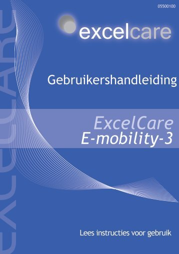 Voorblad handleiding E-Mobility-3 NL