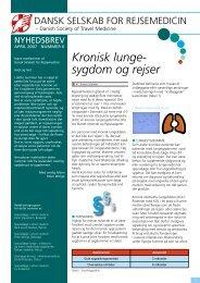 april 2007 - Dansk selskab for rejsemedicin