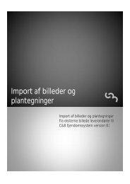 Import af billeder og plantegninger - C&B Systemer A
