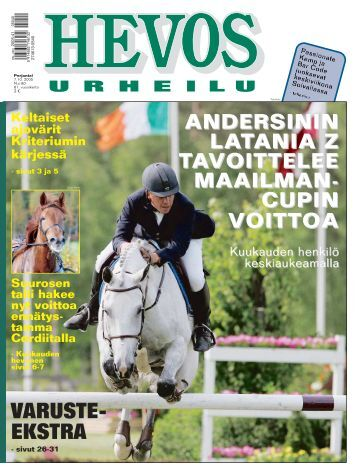 VARUSTE- EKSTRA - Suomenhevonen 100 vuotta