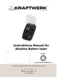 3886 Manual Danish 22.10.09 - Kraftwerk
