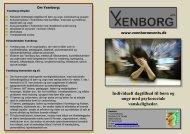 Individuelt dagtilbud til børn og unge med psykosociale ... - Yxenborg