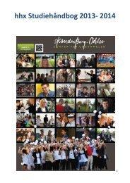 Studiehåndbog 2013/14 - Skanderborg-Odder Center for Uddannelse