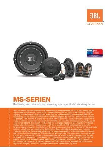 MS9SERIEN - JBL