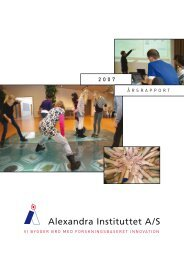 Årsrapport 2007 - eGov+