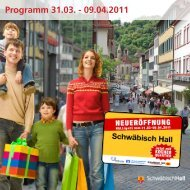 Programm 31.03. - 09.04.2011