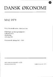 Dansk økonomi, maj 1979 - De Økonomiske Råd