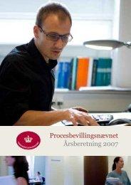 Procesbevillingsnævnet Årsberetning 2007 - Domstolene
