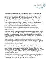 Læs hele formandens tale (pdf) - Region Sjælland