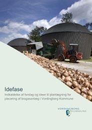 Idefase - Biogasanlæg - Vordingborg Kommune