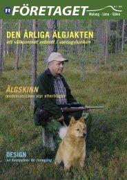 Företaget nr 3, år 2003 - Malung-Sälens kommun