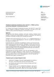 Tilladelse til etablering af jollehavn - Kerteminde Kommune