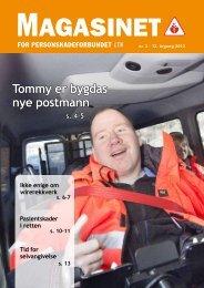 Tommy er bygdas nye postmann - Personskadeforbundet LTN
