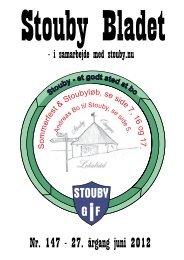 Nr. 147 - 27. årgang juni 2012 - Stouby Kirke