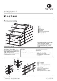 Montagevejledning Z- og C-åse