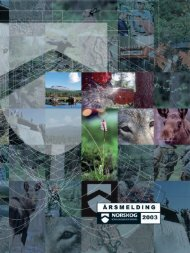 Årsmelding 2003 - Skoginfo