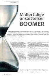 Midlertidige ansættelser boomer - Pharmadanmark