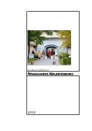 2012 Kvalitetsvurdering Nivaagaards Malerisamling - Kulturstyrelsen