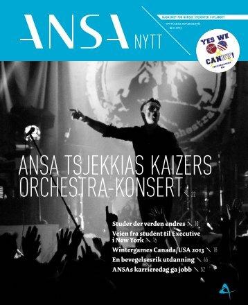 ANSA TSJEKKIAS KAIZERS ORCHESTRA-KONSERT 22