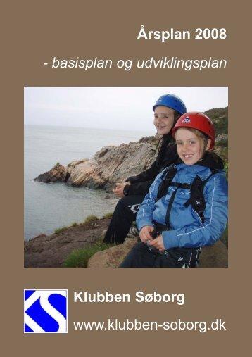 Årsplan 2008 - Gammel hjemmeside - Klubben Søborg