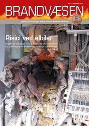 Risici ved elbiler - Foreningen af Kommunale Beredskabschefer