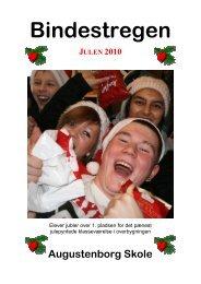 Bindestregen Julen 2010 - Augustenborg Skole