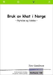 Bruk av khat i Norge