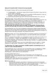 Side 1 af 6 Status SF i Gentofte 2007 i forhold til kommunalpolitik SF ...