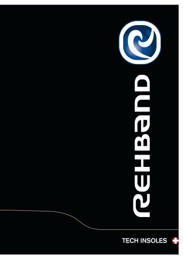 TECH INSOLES - Rehband