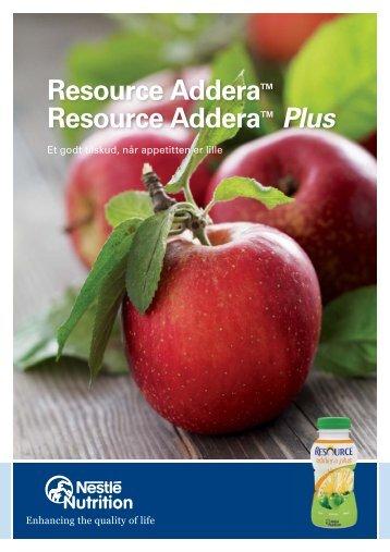 9454 Resource Addera_A5.indd - Nestlé Nutrition